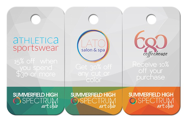 2 3/8 x 1 1/8 Key Tags (Custom Laminated)