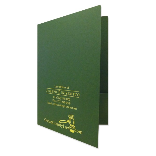 Legal Size Presentation Folders