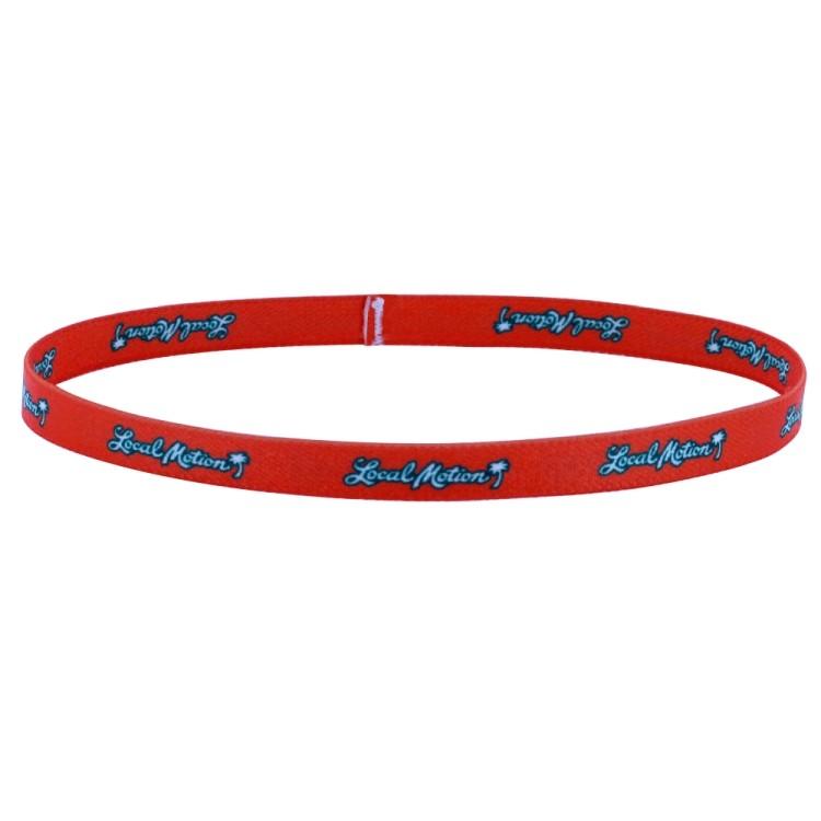 1/2 Dye Sublimated Stretchy Elastic Headband