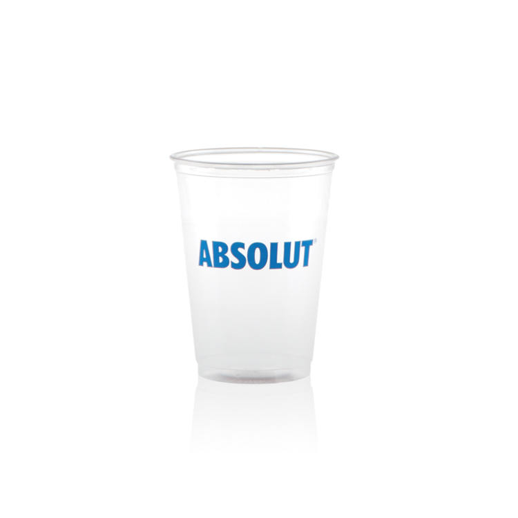 10 oz Soft Sided Clear Plastic Cup - Tradition