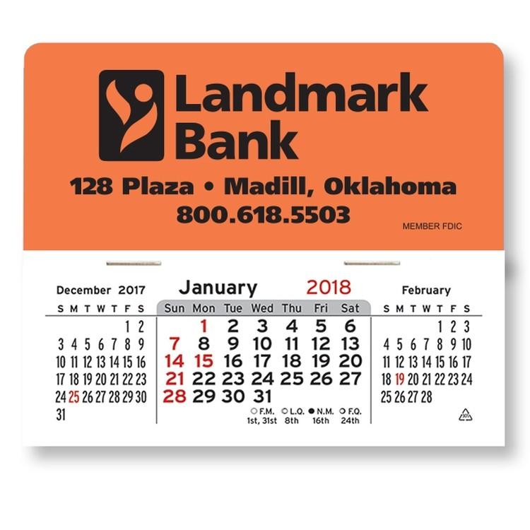 Mega Peel-N-Stick&8482 Calendars-Rectangle