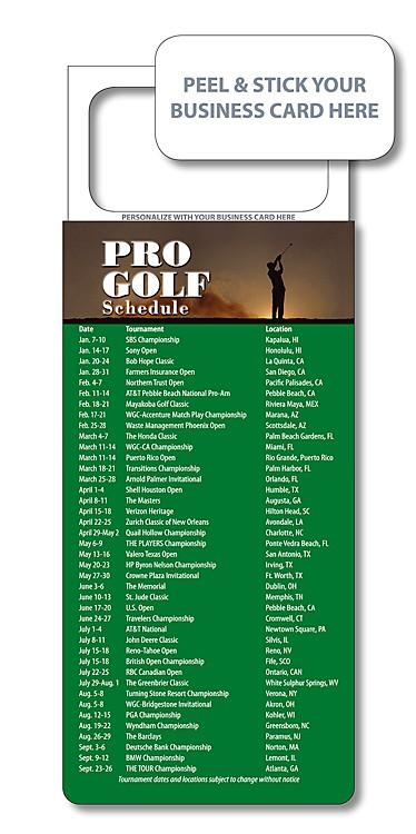 M.B.C. Sport Schedules - Pro Golf (3.5x9)