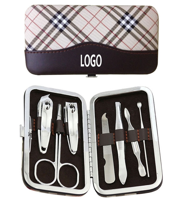 7 Pieces Portable Carbon Steel Nail Art Manicure Set Iscy009