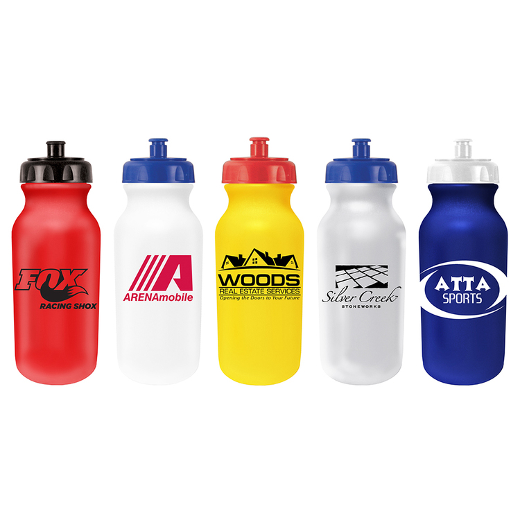 20 oz. Value Cycle Bottle with Push \'n Pull Cap