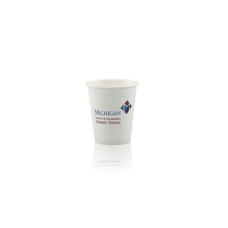 6 oz Paper Cup - White- Hi-Speed