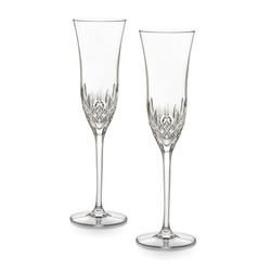 Waterford Lismore Essence Champagne Flute (pair) - Waterford