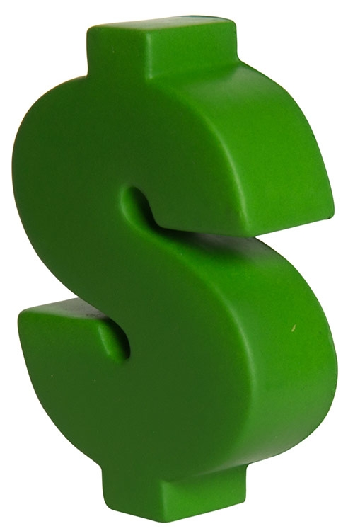 Dollar Sign Squeezies Stress Reliever
