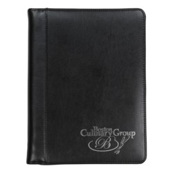 Regal™ Zipper Padfolio w/ iPad Pocket
