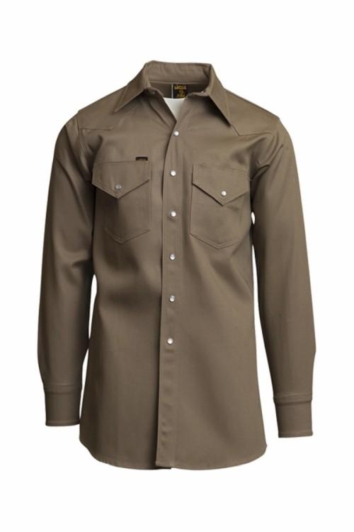 8.5oz. Mid-Weight Welding Shirts   NON-FR   100% Cotton