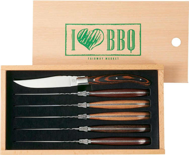 Laguiole 6 Piece Array Steak Knife Set