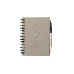 BIC&#174 Chipboard Cover Notebook