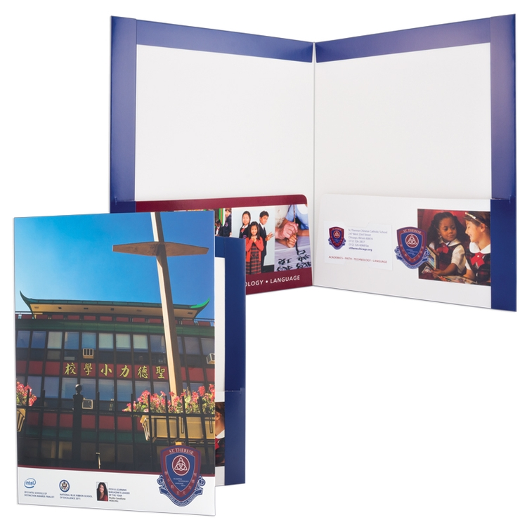Reinforced Edge Presentation Folders