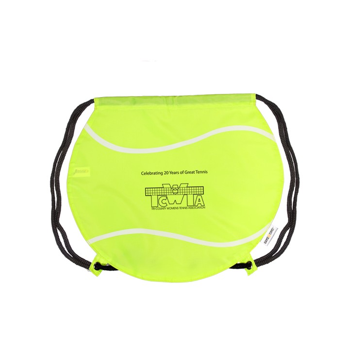 GameTime!(R) Tennis Ball Drawstring Backpack