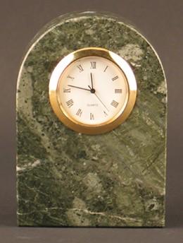 Arch of Titus Green Marble Clock Award