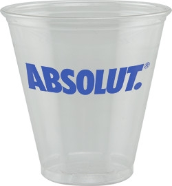 5 oz Soft Sided Clear Plastic Cup - Tradition