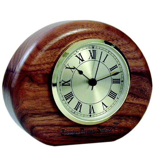 Global Vision Wood Mantle Clock