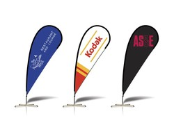 12.5' Flex Blade Advertising Banner - Economy