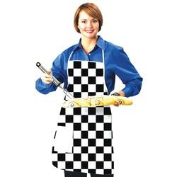 Checkered Flag Apron - Blank