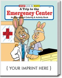 COLORING BOOK - A Trip to the Emergency Center Coloring & Activity Book