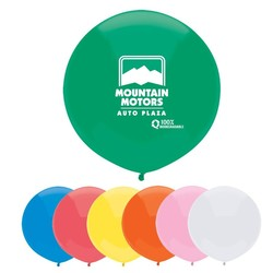 17 Outdoor Display Balloons -Basic Colors