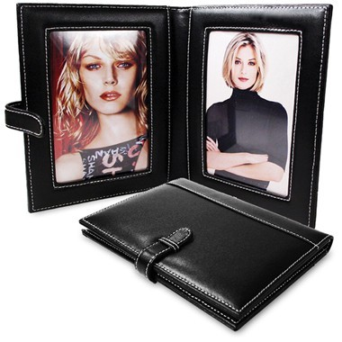 Leather 4 x 6 Photo Frame
