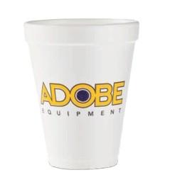 10 oz. Styrofoam Hot/Cold Cup