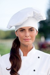 Traditional Chef Hat, Blank White