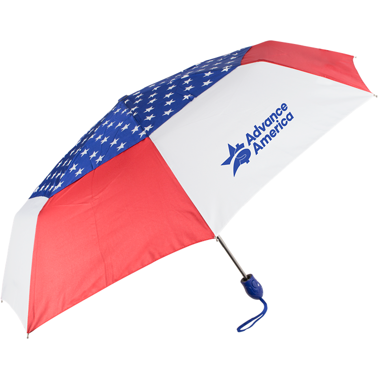 44 Auto Open Auto Close USA Umbrella