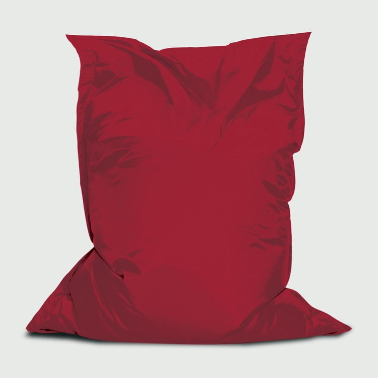3'W x 4.4'H Branded Bean™, Stock Red