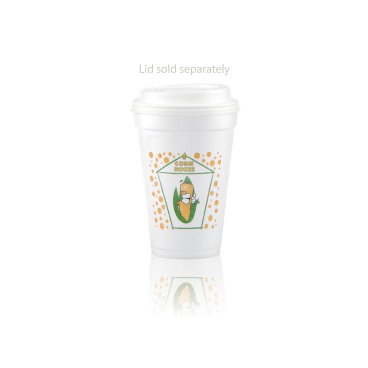 16 oz Foam Cup - White - Hi-Speed