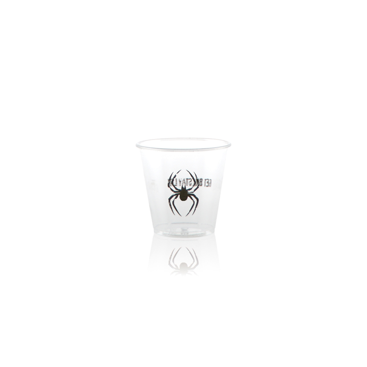 3.5 oz Soft Sided Clear Plastic Cup - Tradition