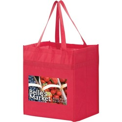 Non-woven Polypropylene Grocery Tote - Y2KH131015 - Color Evolution 4CP Heat Transfer