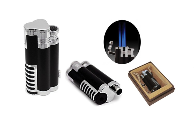 Cyclone Triple Flame Cigar Lighter