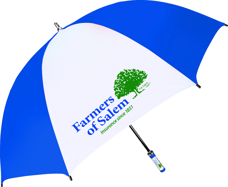 The Birdie - Sporty fiberglass-shaft golf umbrella