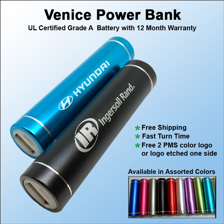 Venice Power Bank 2200 mAh - Venice Power Bank 2200 mAh