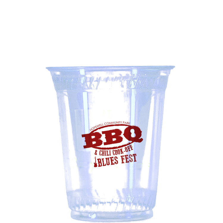 Soft Sided Cups-12 oz. Clear