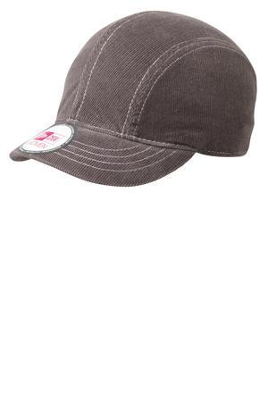 CLOSEOUT New Era - Women's Corduroy Short Bill Cap.