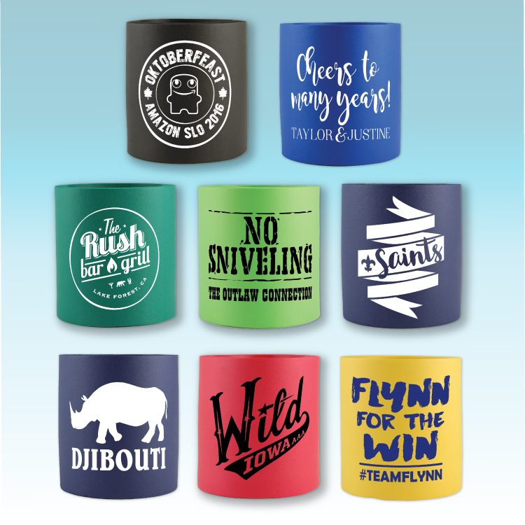 Foam Can Coolie - Can Koozie