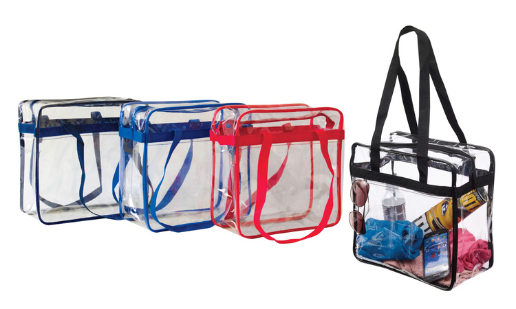NFL Approved PGS Complied Clear Stadium Tote