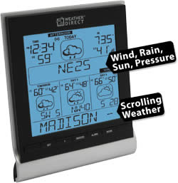 4 Day Internet Powered Wireless Forecaster with Forecast