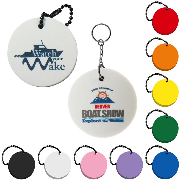 Circle Key Tag - Round Key Tag