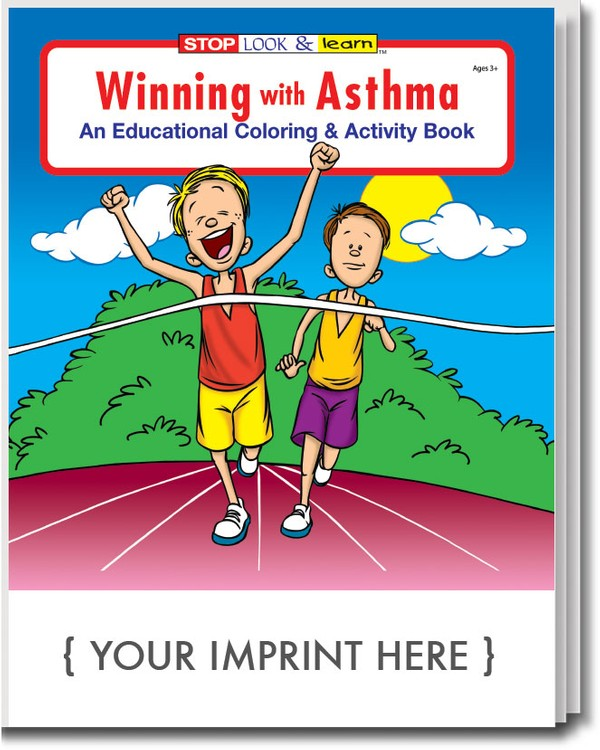 COLORING BOOK - Winning With Asthma Coloring & Activity Book