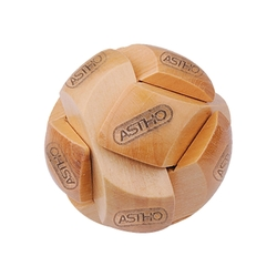 Round Shape 6 Pieces Wooden Puzzle