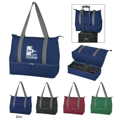 Mission Dual Compartment Tote Bag - Silk-Screen
