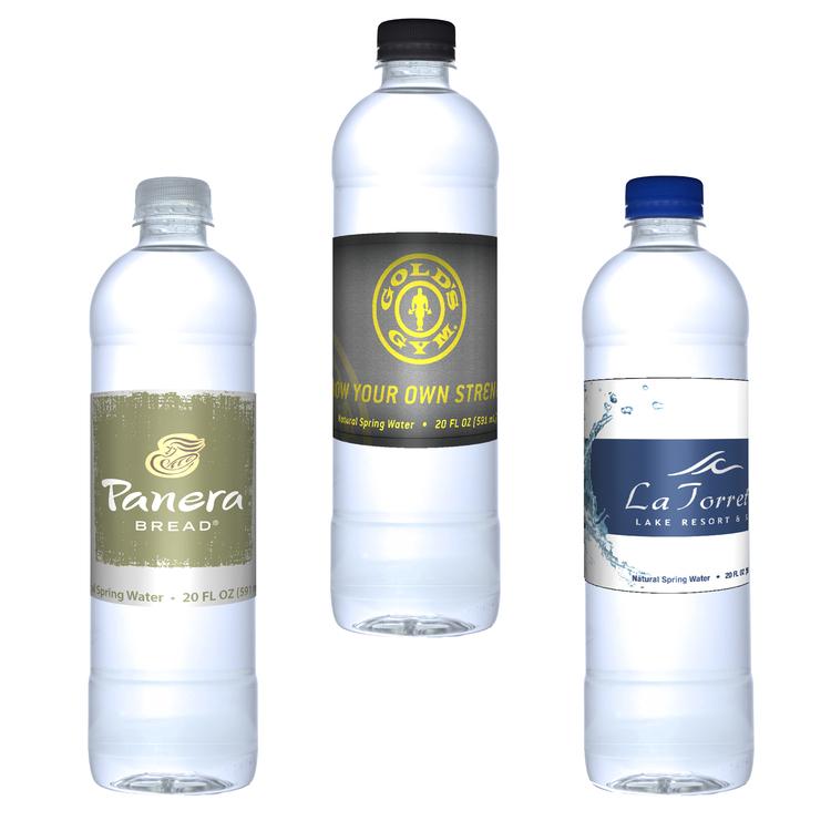 20 oz. Bullet Bottle Custom Label Water Bottle