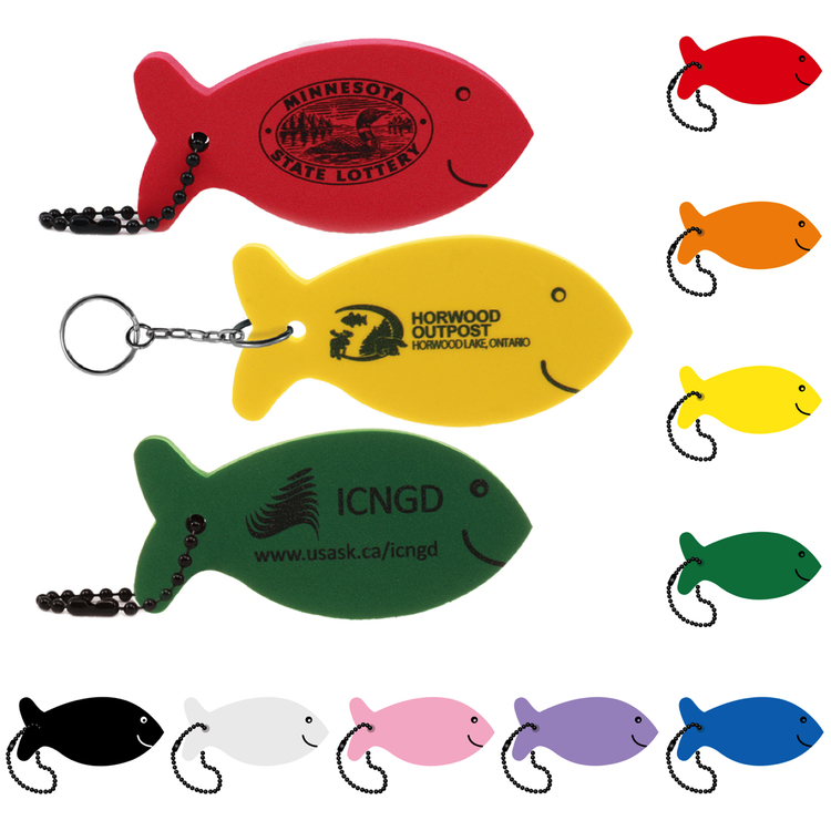 Fish Floating Key Tag