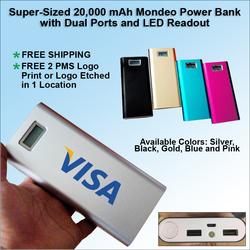Mondeo Power Bank 20000 mAh