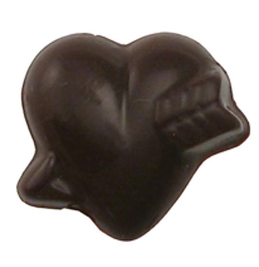 CHOCOLATE HEART SMALL WITH ARROW