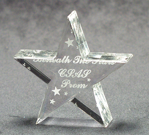 Low Price High Quality ANY SHAPE: 36 Square Inch Acrylic Paperweights Award Shapes