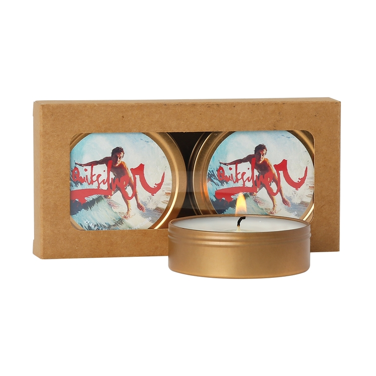 Scented Candle 2-Pack in Kraft Window Box